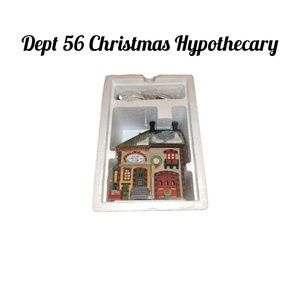 Dept 56 Christmas Hypothecary Building & +